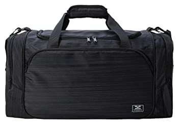 MIER Gym Bag With Wet Pocket Sports Duffel Holdall For Men And Women 40L