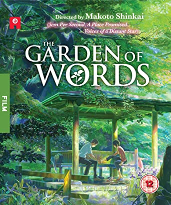 Garden of Words [Blu-ray]: Amazon.co.uk: Makoto Shinkai: DVD & Blu-ray