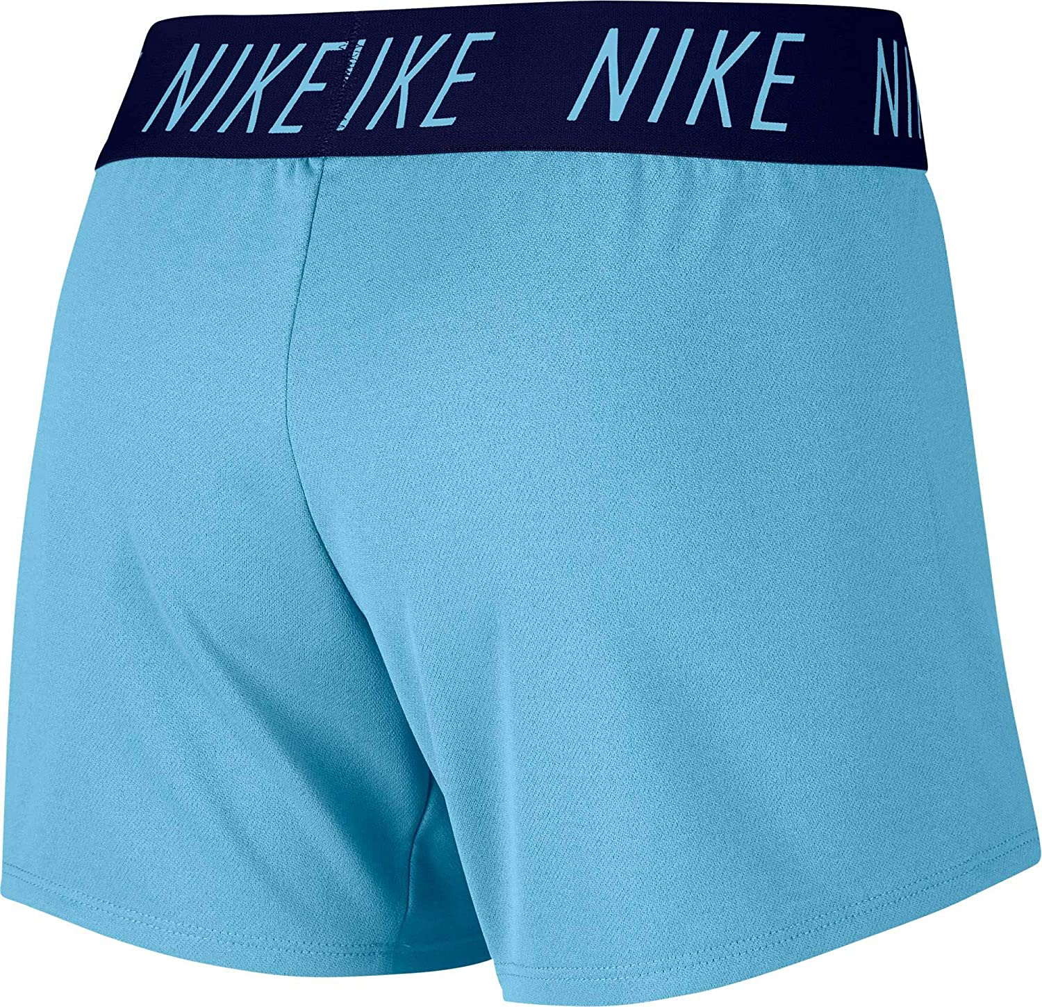 0eed29d5 Amazon.com : Nike Girls Dry Trophy Graphic Shorts (L, Blue) : Sports &  Outdoors