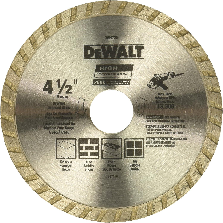 DEWALT DW4725 Diamond Blade