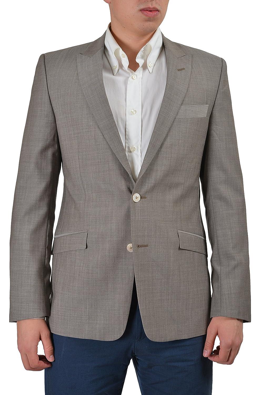 07059bdf4 Amazon.com: Versace Collection Men's Beige 100% Wool Sport Coat ...