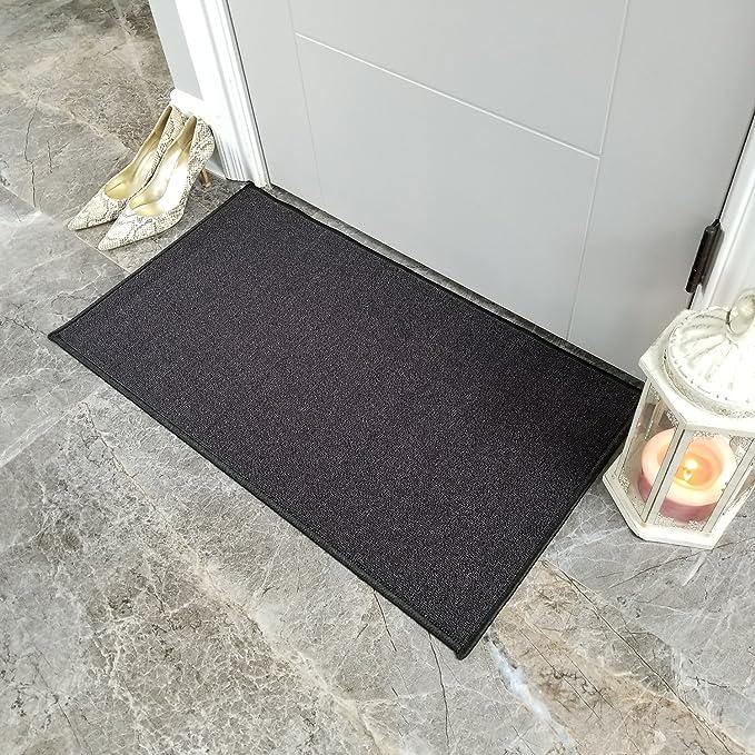 NON SLIP GREEK BORDER MAT//RUG USED FOR KITCHEN//BAT//DOOR 40  x 60 CM RED