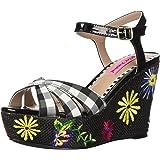 3801d3becf62 Betsey Johnson Women s Traci Wedge Sandal