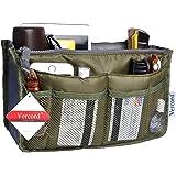 Vercord Purse Organizer,Insert Handbag Organizer Bag in Bag (13 Pockets 15 Colors 3 Size)