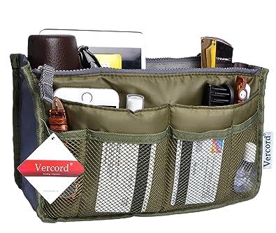 Purse Organizer,Insert Handbag Organizer Bag in Bag (13 Pockets 15 Colors 3  Size 5cba4ff782