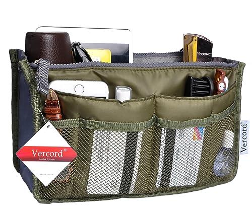 Amazoncom Vercord Purse OrganizerInsert Handbag Organizer Bag in