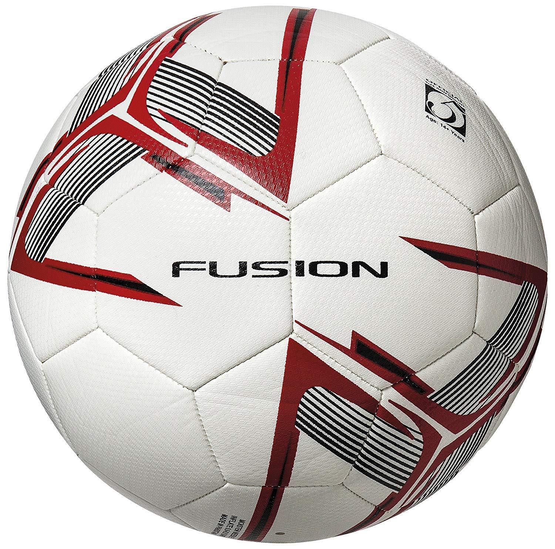 Precision Fusion IMS-Balón de fútbol, Blanco, Rojo y Negro, Talla ...