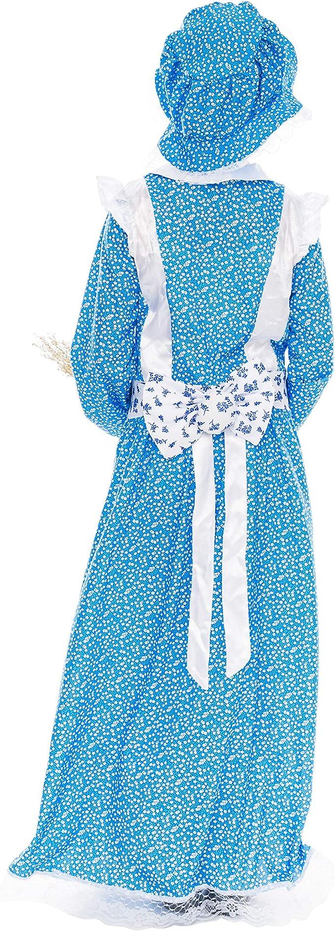 Amazon.com: Colonial Pioneer Disfraz de pradera de lujo para ...