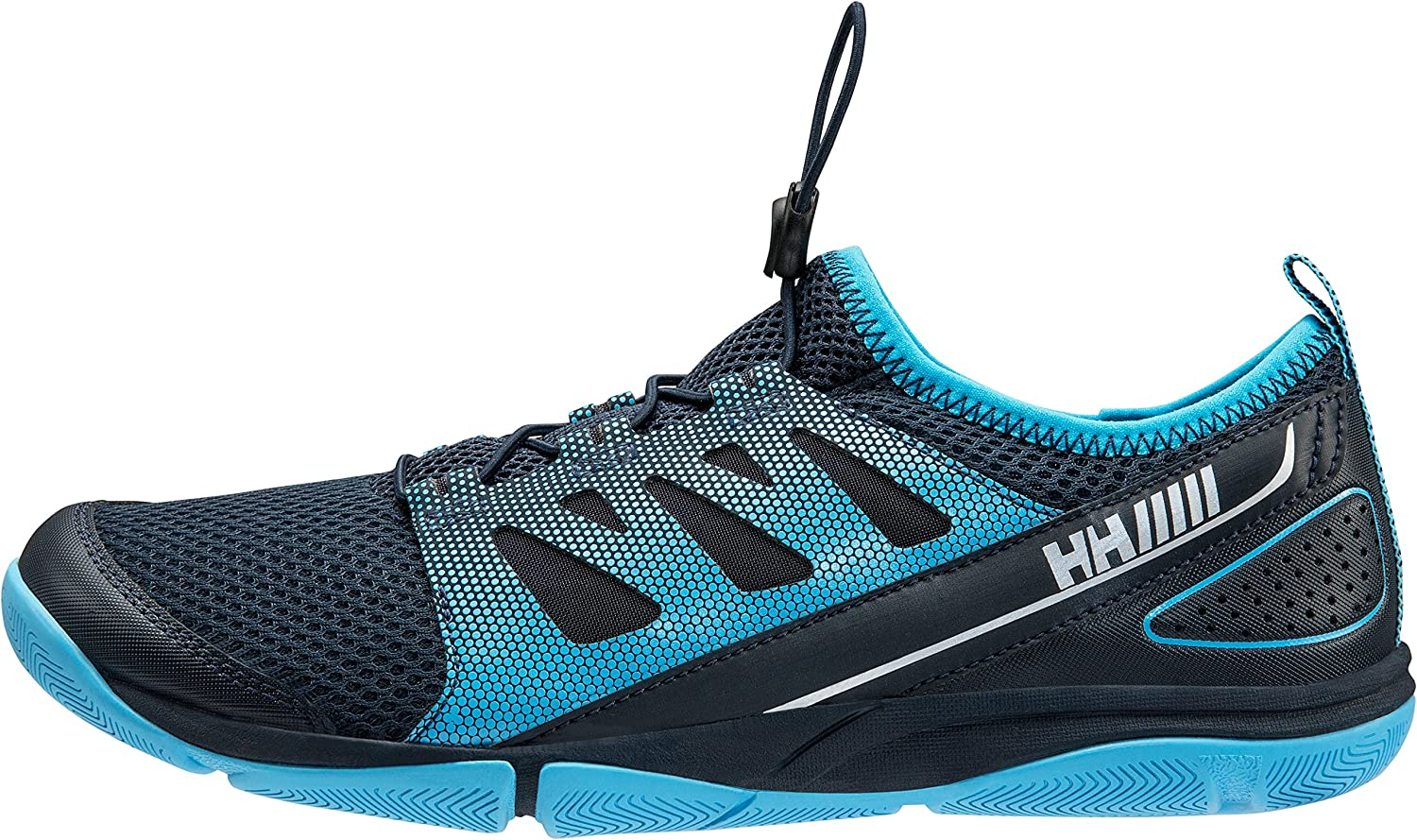 Helly Hansen Women's W Aquapace 2 Fashion Sneaker B073RPJXPJ EU 38/US 7|Navy / Aqua Blue / Black