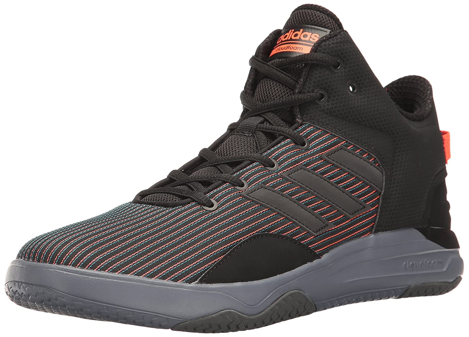 adidas Men's Cloudfoam Revival Mid Sneakers NEO Child code (Shoes)