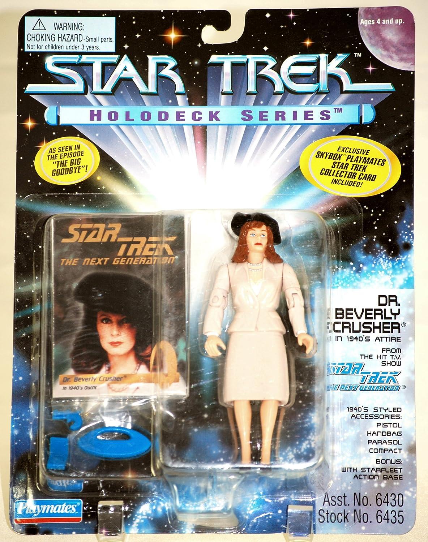 Star Trek Holodeck Series Dr Beverly Crusher in 1940s Attire 1995