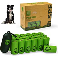 SWIPPLY Dog Poop Bags Pet Dog Supplies 300 Bag 20 Rolls With Dispenser and Waste Dog Poop Bag Leash Clip for Doggie Cats…