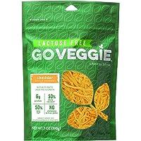 GO VEGGIE Shredded Cheese, Cheddar, 7 Ounce (Pack of 12)
