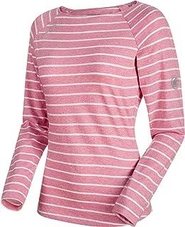 Mammut T-Shirt à Manches Longues pour Femme Wall Shirts, Femme, Damen Longsleeve Wall Rose Melange-White Melange XXS Mammut (MAMQ3) 1041-06231-3486-111