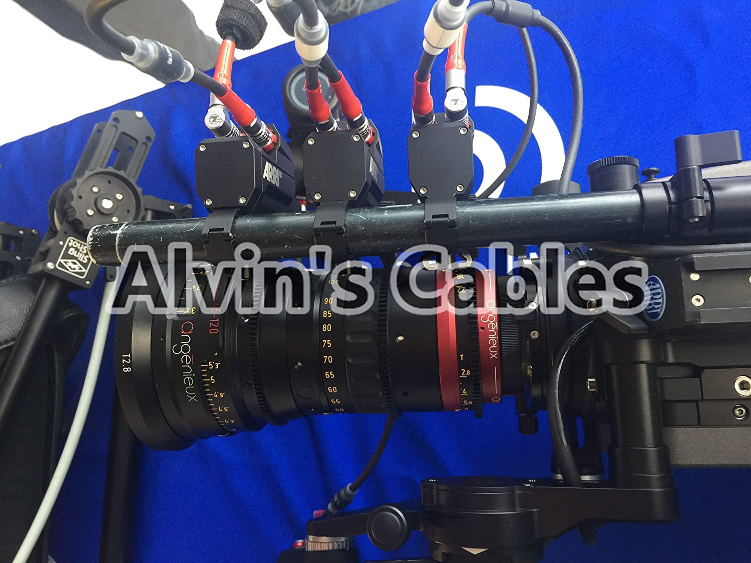 Alvins Cables 4 Pin Male to 4pin Cable for Arri LBUS FIZ MDR Wireless Focus