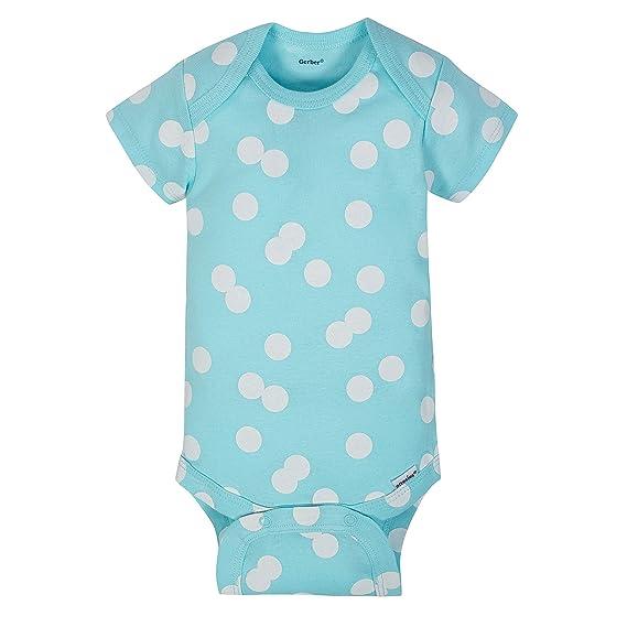9b1bdb5c4 Gerber Baby-Girls Unisex Baby 4 Pack Onesies: Amazon.ca: Clothing &  Accessories