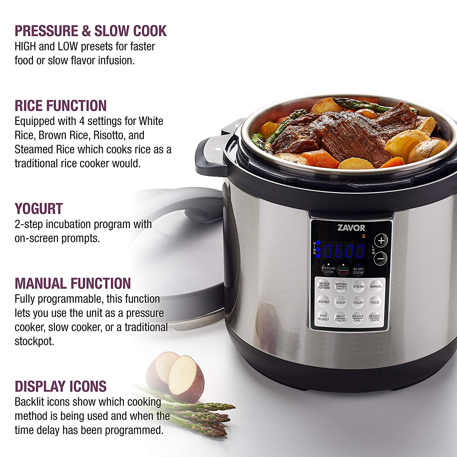Amazon.com: LUX Edge MultiCooker: Kitchen & Dining