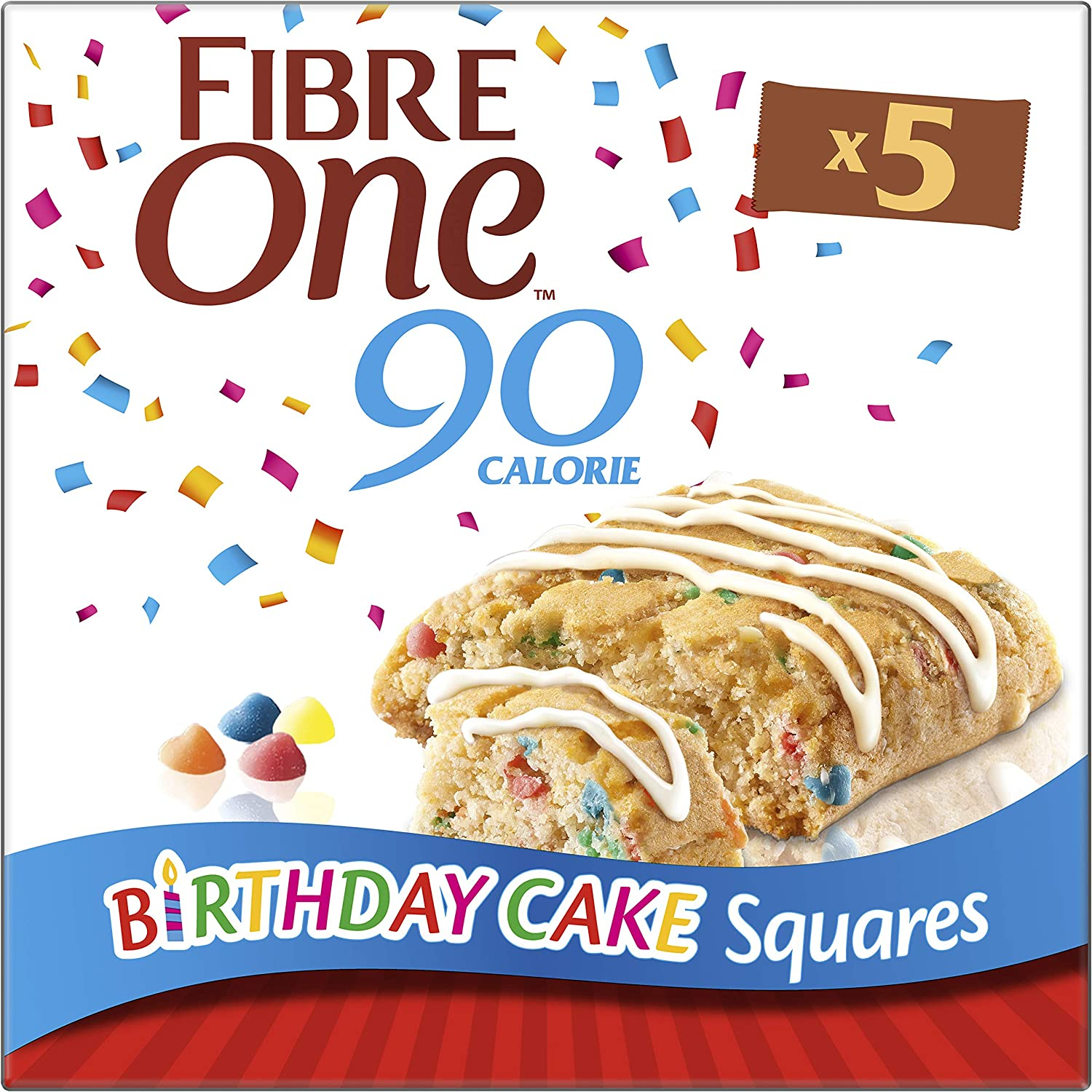 Astonishing Fibre One 90 Calorie Limited Edition Birthday Cake High Fibre Birthday Cards Printable Opercafe Filternl