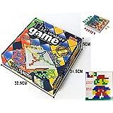 Ms.0 ザ・ゲーム ブロック ボードゲーム 頭脳戦略ゲーム 日本語遊び方説明画像あり