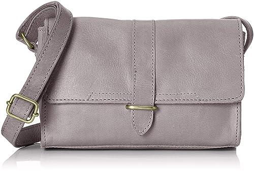 Cowboysbag - Bag Bayard, Carteras de mano con asa Mujer, Gris (Grey)