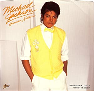"Michael Jackson "" Human Nature "" ORIGINAL Picture Sleeve From The ""THRILLER"" LP 1983"