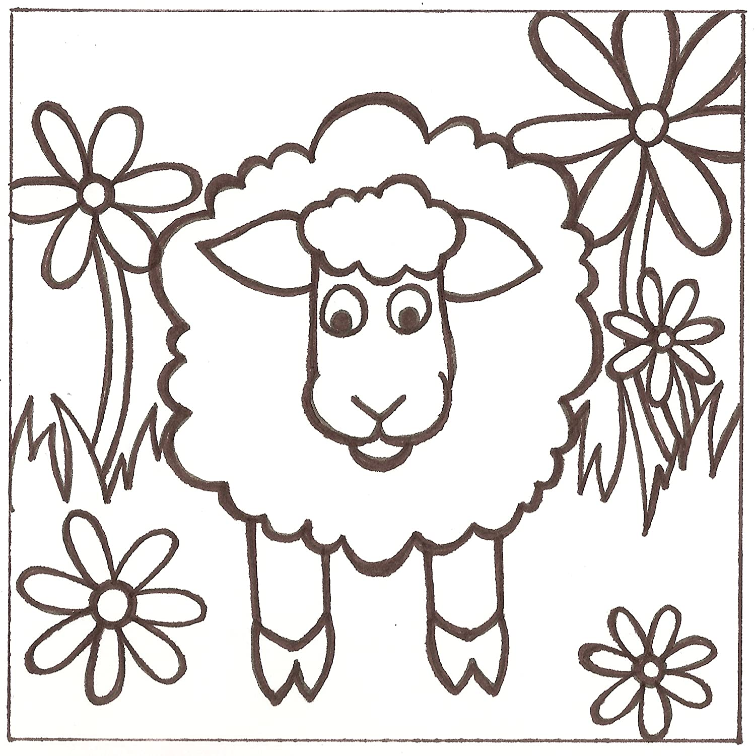 Barato PaintaDoodle 12 x 12 Sheep Painting Kit by PaintaDoodle