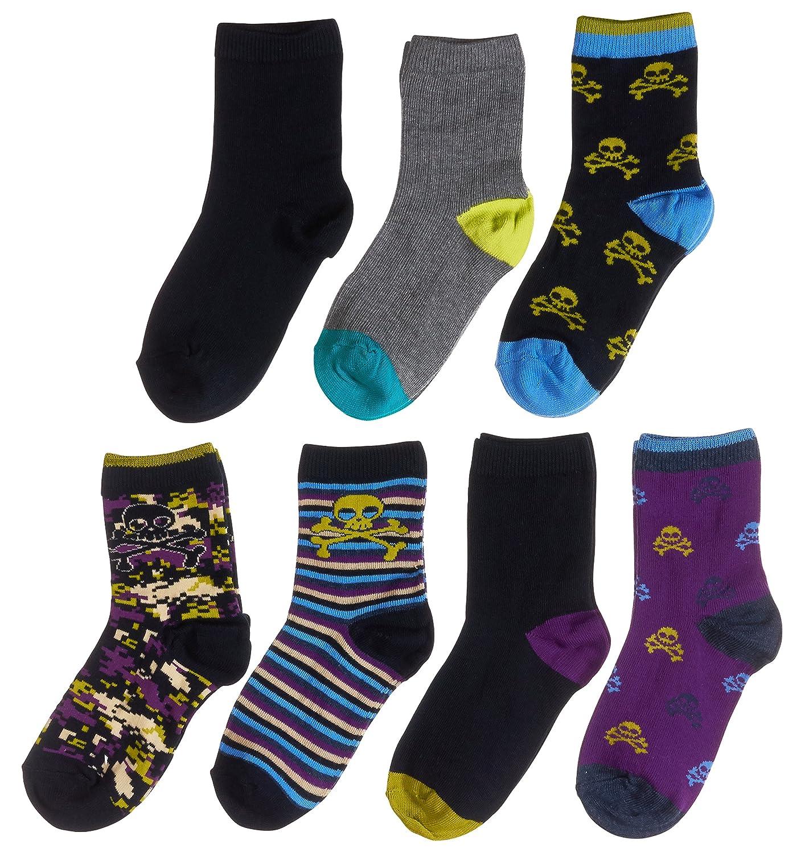 Trimfit Boys 7-Pack Crew Socks 79811-290