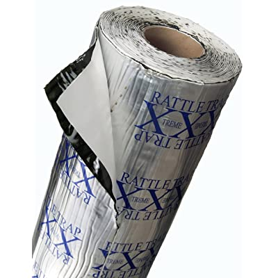 FatMat Self-Adhesive Rattletrap Sound Deadener Pack with Install Kit - 25 Sq Ft x 80 mil Thick: Automotive