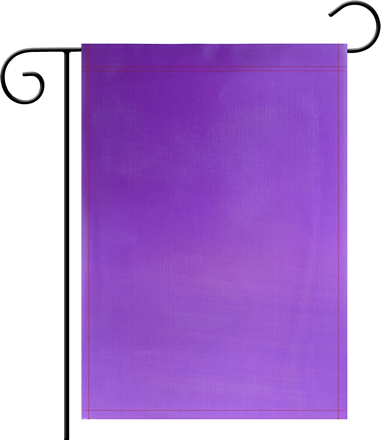 Garden Flag ,Pure Solid Purple Garden Flag Color Flag, Plain Purple Flags,Garden Decoration Flag,Indoor and Outdoor Flags,Party decoration, home decoration, School decoration,DIY,Double-Sided.