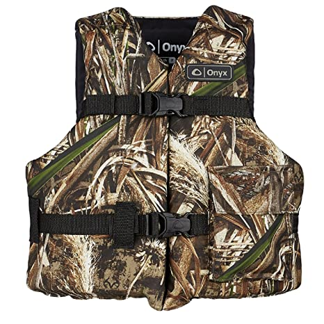8e4ddc19011d7 Image Unavailable. Image not available for. Color: Onyx Outdoor Youth  Realtree Max-5 Universal Sport Vest