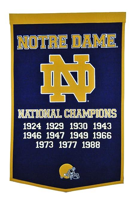 f26cca6f02b Amazon.com   Winning Streak NCAA Notre Dame Fighting Irish Dynasty ...