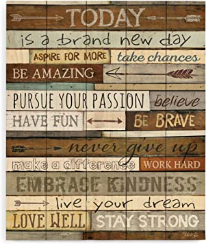 Amazon.com: Today is a Brand New Day frases inspiradoras ...