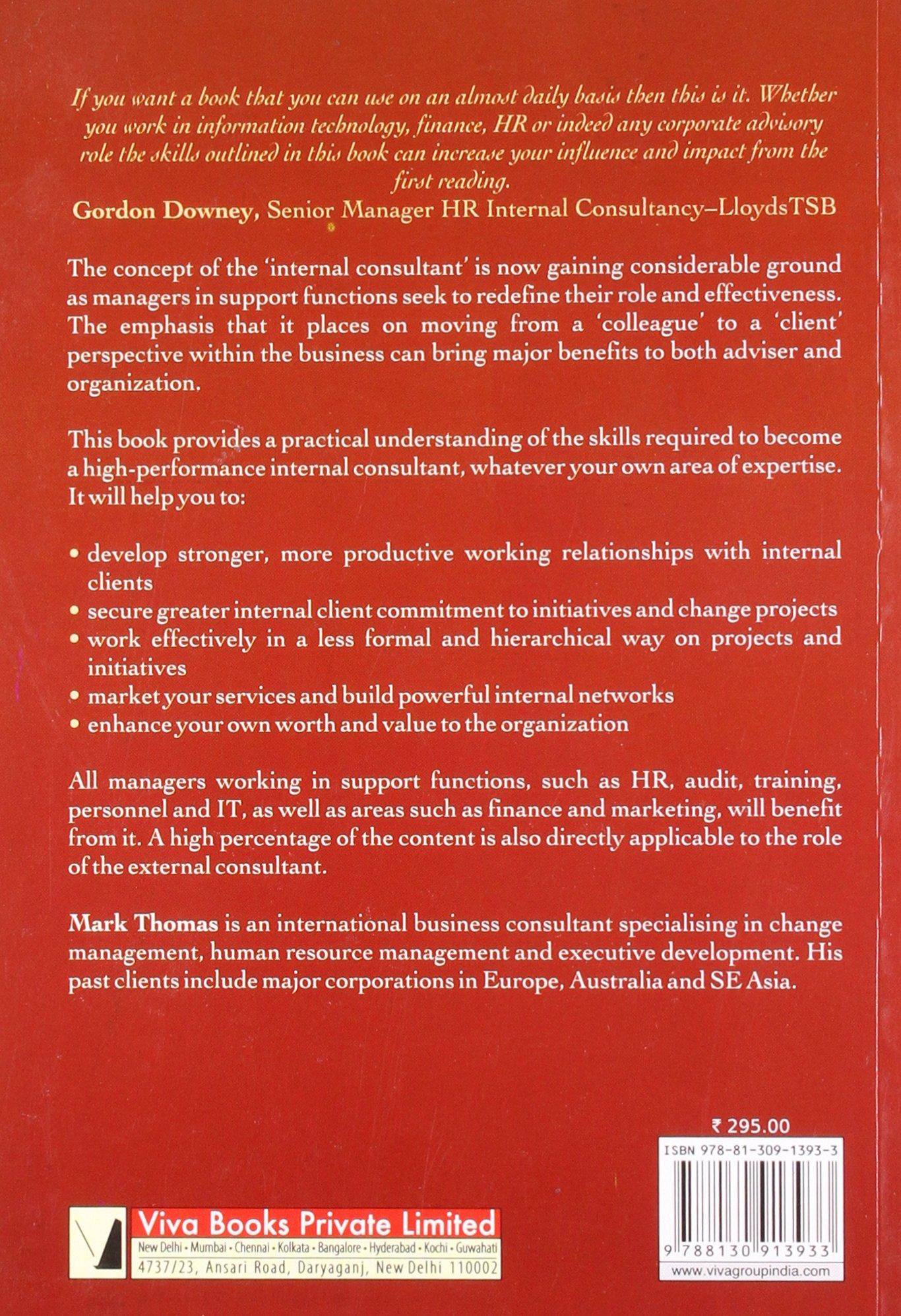 high performance consulting skills thomas mark