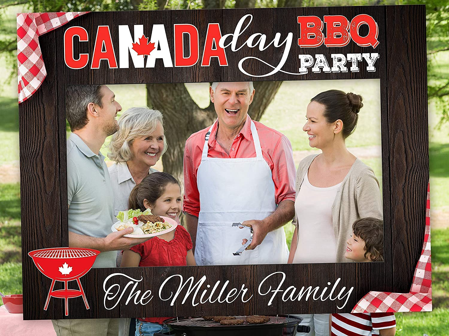 Custom Photo Booth Props 2020 decoration Canadian Party Decoration Home Decoration Canada Day Decorations Canada Day Photo Booth Party Supplies Personalized Frame Size 36x24 48x36