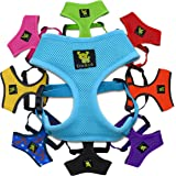 The Original EcoBark Maximum Comfort & Control Dog Harness 4-65 lbs; No Pull & No Choke Design, Luxurious Padded Vest, Eco-Friendly, For Puppies and Dogs