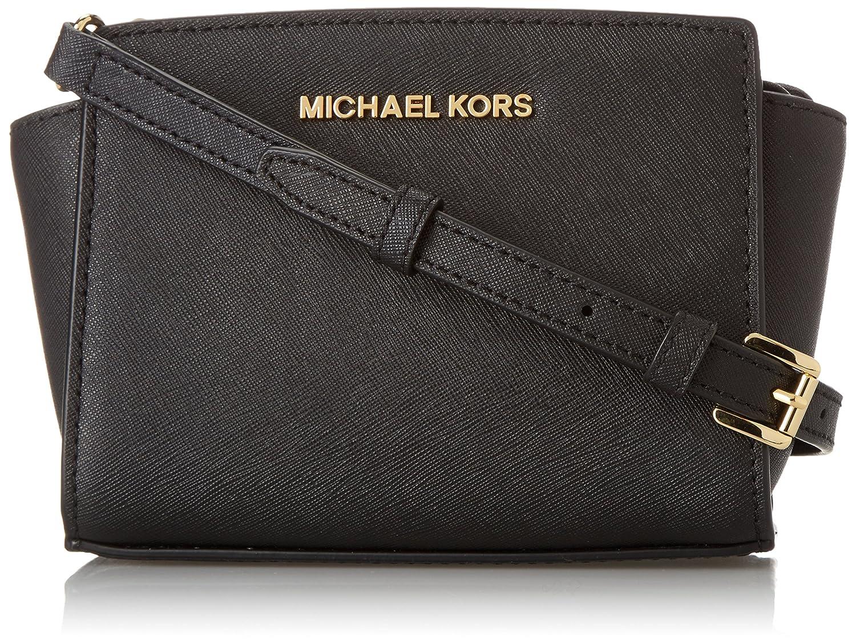 Amazon.com: MICHAEL Michael Kors Selma Mini Messenger Cross Body Black 1: Michael  Kors: Clothing