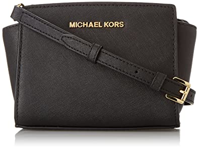 a81f89a4d33d Amazon.com  MICHAEL Michael Kors Selma Mini Messenger Cross Body ...