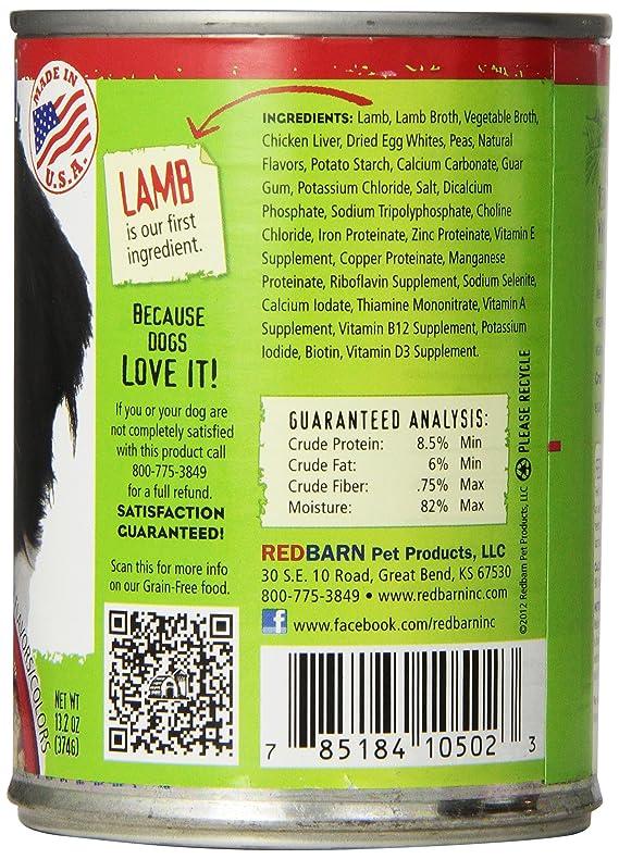 Amazon.com : 416 362 12-Pack Cordero-Baa-Daa Canned Dog Food, 13.2 onzas : Pet Supplies