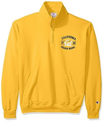 82fdcdc2f1a Image Unavailable. Image not available for. Color  Champion MLS Cal-Berkeley  Men s Power Blend Fleece Quarter-Zip Jacket ...
