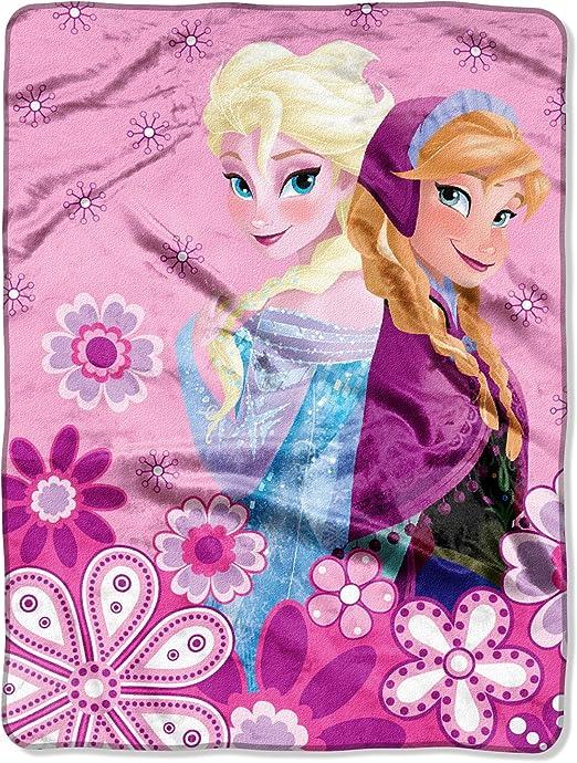 """Disney/'s Frozen /""""Spring Sisters/"""" Micro Raschel Throw"""