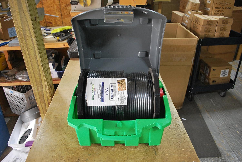 Amazon.com: 500 FT copper center conductor rg6 cable coax & EnviroReel mini Kit Caddy Spool: Home Audio & Theater