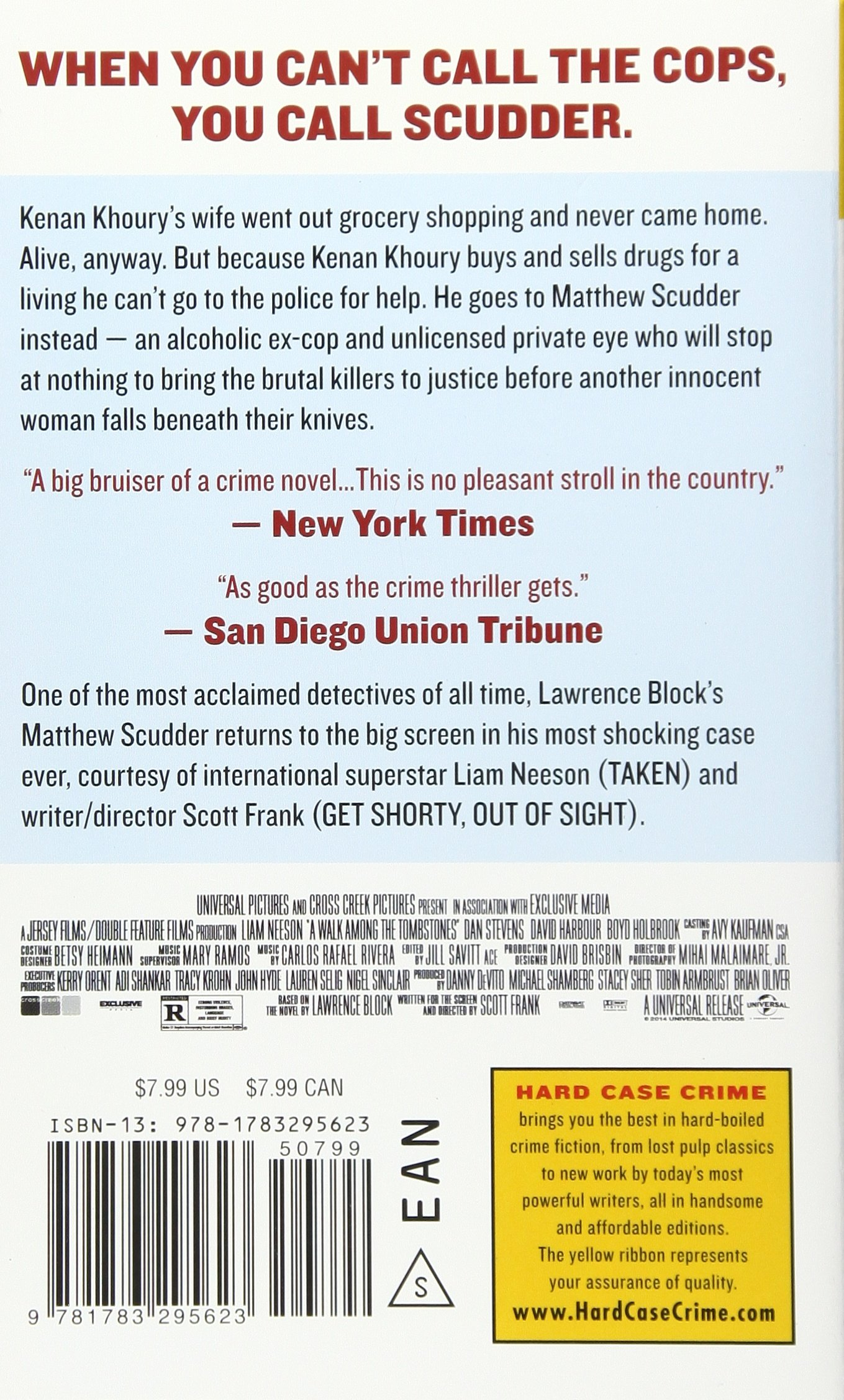 A Walk Among The Tombstones, Movie Tiein Edition (matthew Scudder):  Lawrence Block: 9781783295623: Amazon: Books