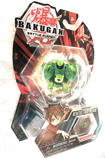 Amazon.com: Bakugan, Ventus Ninja, criatura transformadora ...