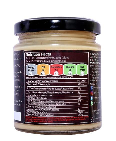 Fitjars Almond & Macadamia Nut Butter -200g℮: Amazon.es: Alimentación y bebidas