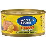 Oceans Secret Canned Tuna in Lemon Slice, 180g