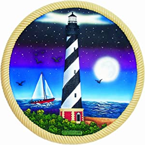 Spoontiques Lighthouse and Moon Stepping Stone