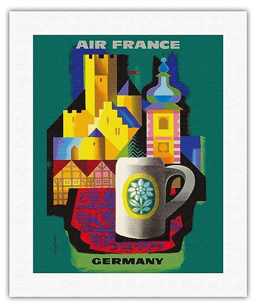 Pacifica Island Art Alemania-Air France-Viajes aerolínea del ...