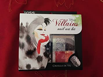 Amazon Disney Villains Nail Art Kit Cruella De Vil Elf Elf
