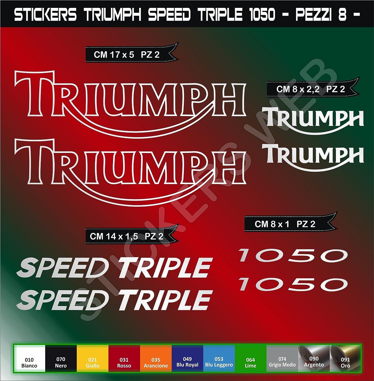 Adh/ésifs stickers pegatina TRIUMPH SPEED TRIPLE 1050 moto motorcycle cod 0571