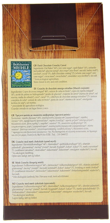 Bohlsener Mühle Muesli y Cereales Crujientes - 6 Paquetes de 400 gr - Total: 2400 gr: Amazon.es: Alimentación y bebidas